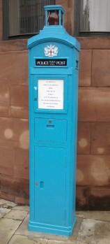 Police telephone post London © Memoirs Of A Metro Girl 2012