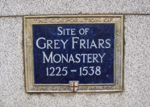 Greyfriars site sign © Memoirs Of A Metro Girl 2019