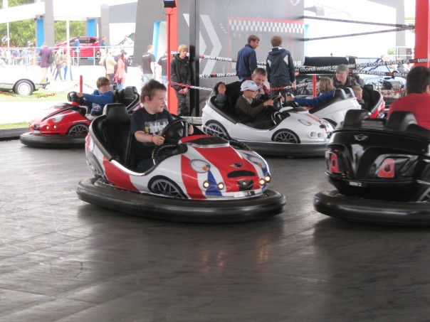 Mini dodgems © Memoirs Of A Metro Girl 2012