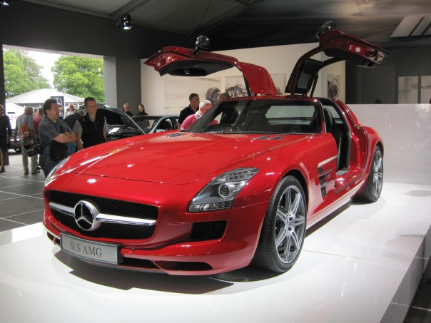 Mercedes SLS Coupe © Memoirs Of A Metro Girl 2012