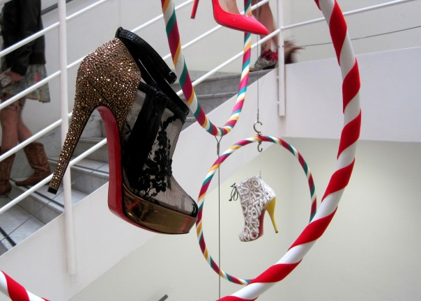 Louboutin hanging © Memoirs Of A Metro Girl 2012