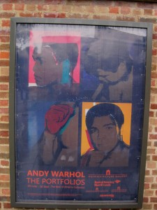 Warhol sign © Memoirs Of A Metro Girl 2012