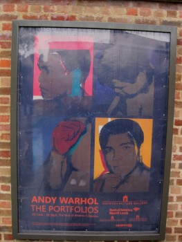 Warhol sign © Memoirs Of A Metro Girl 2012