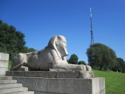 Crystal Palace sphinx © Memoirs Of A Metro Girl 2012