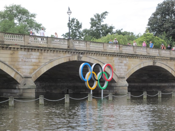 Olympic rings © Memoirs Of A Metro Girl 2012