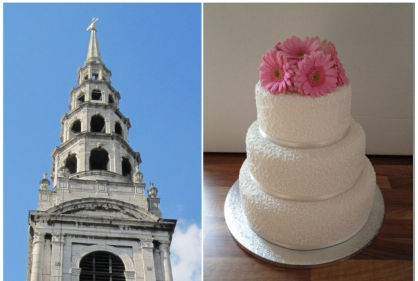 St Brides Cake 5050 © Memoirs Of A Metro Girl 2012 and Ashley Jane Cakes