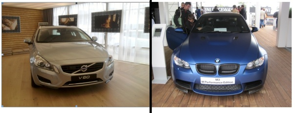 Volvo V60 BMW M3 Matte © Memoirs Of A Metro Girl 2012