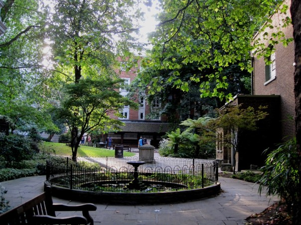 Postman's Park © Memoirs Of A Metro Girl 2012