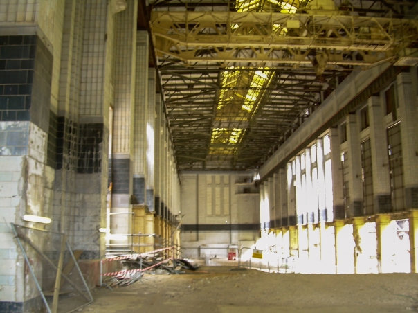 Battersea Power Station derelict interior © Memoirs Of A Metro Girl 2012
