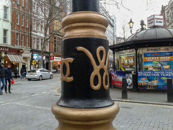Coco Chanel street lights Westminster © Memoirs Of A Metro Girl 2013