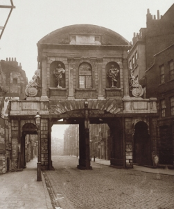 Temple Bar London 1878