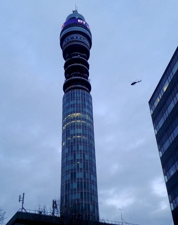 BT Tower © Memoirs Of A Metro Girl 2013