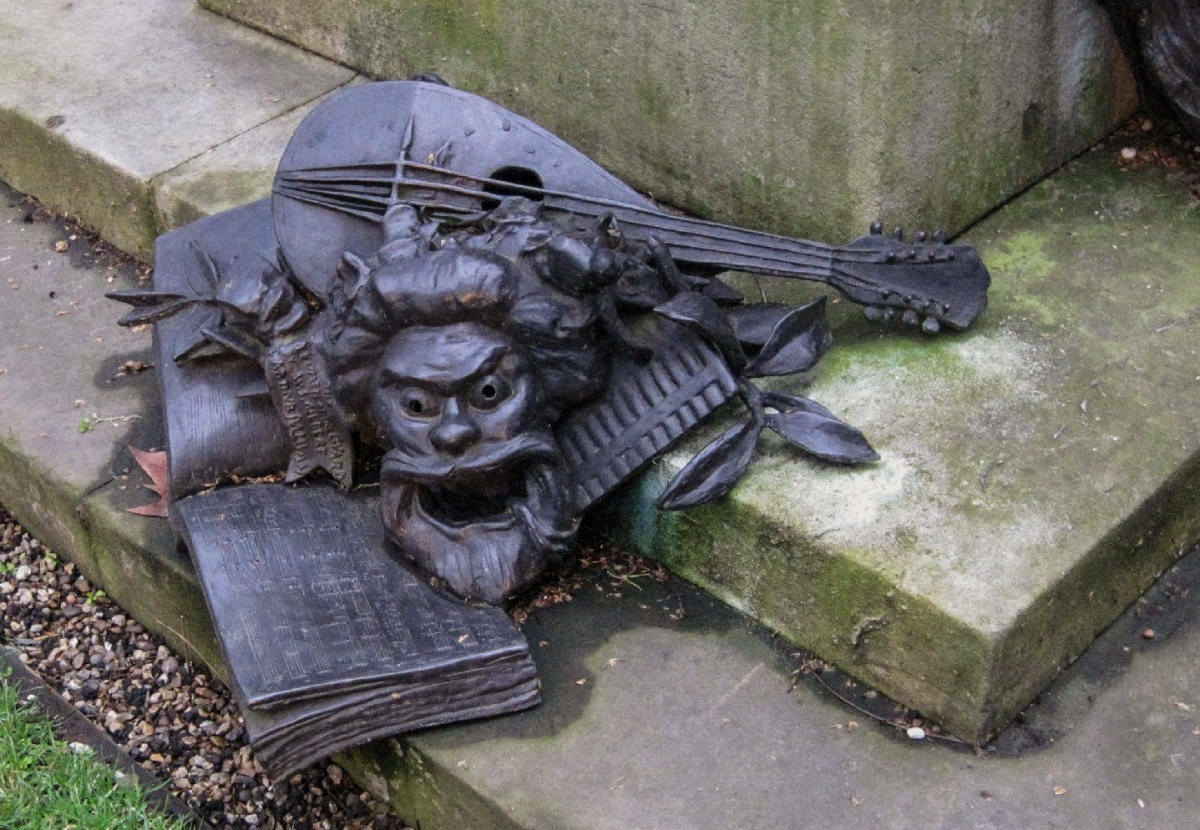 Arthur Sullivan memorial in Embankment Gardens: A racy tribute to a legendary composer