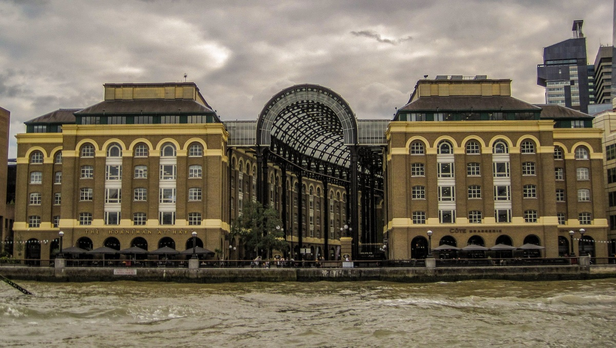 Hay's Galleria: Tea, war and fire - the history behind the Larder of London