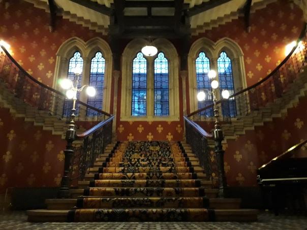 St Pancras staircase © Memoirs Of A Metro Girl 2013