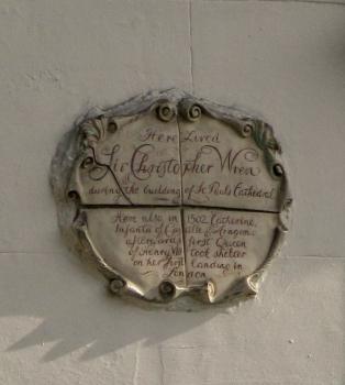 Cardinal's Wharf plaque © Memoirs Of A Metro Girl 2016