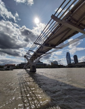 Millennium Bridge © Memoirs Of A Metro Girl 2014