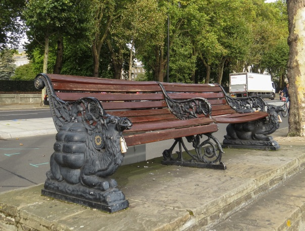 Victoria Embankment Bench © Memoirs Of A Metro Girl