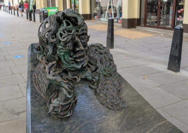 Oscar Wilde Maggi Hambling © Memoirs Of A Metro Girl 2014