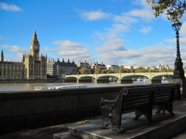 Swan bench Westminster Embankment © Memoirs Of A Metro Girl 2015