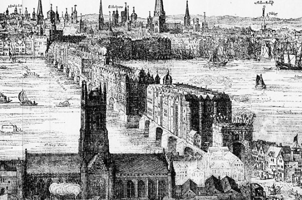 London Bridge (1616) Claes Van Visscher