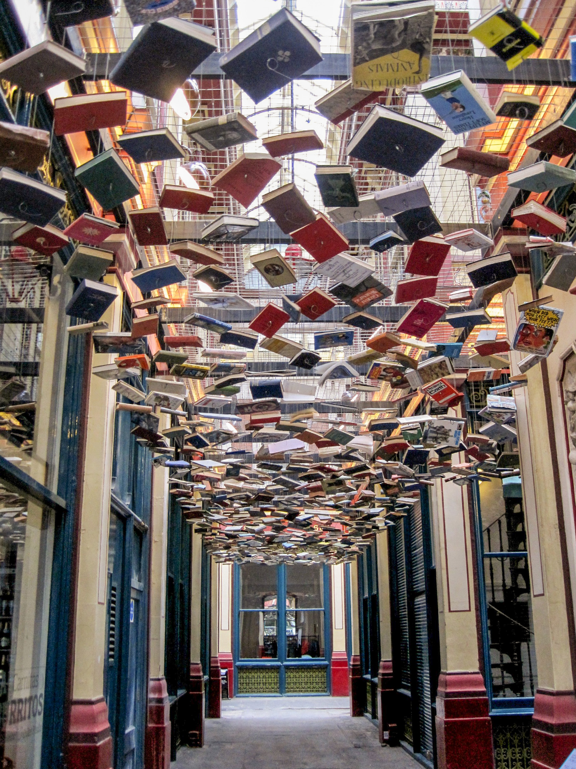 Lose Your Head In A Good Book False Ceiling At Leadenhall
