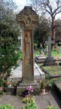 Emmeline Pankhurst's grave in Brompton Cemetary