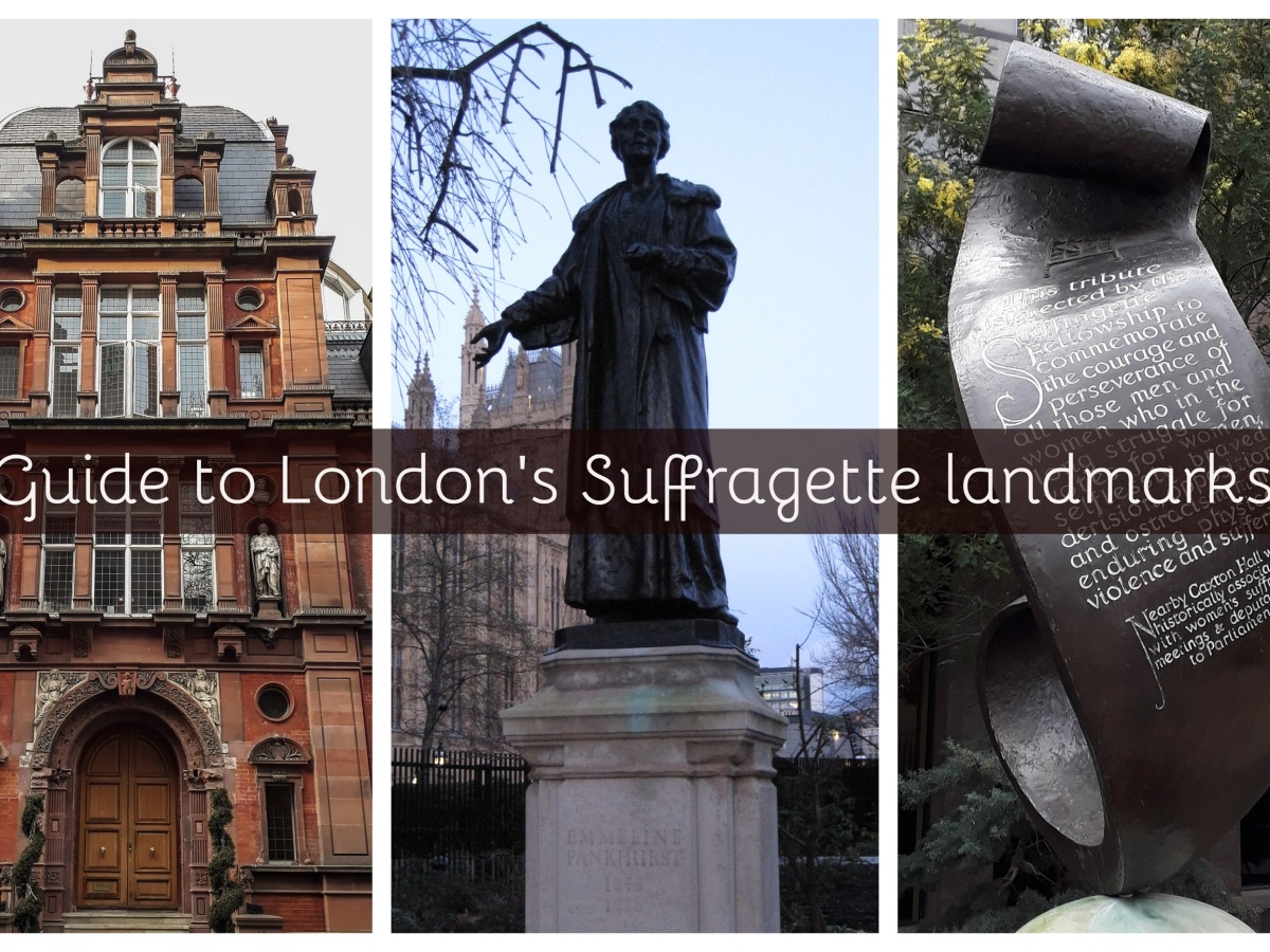 London Suffragette landmarks © Memoirs Of A Metro Girl