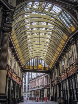 Leadenhall market © Memoirs Of A Metro Girl 2015