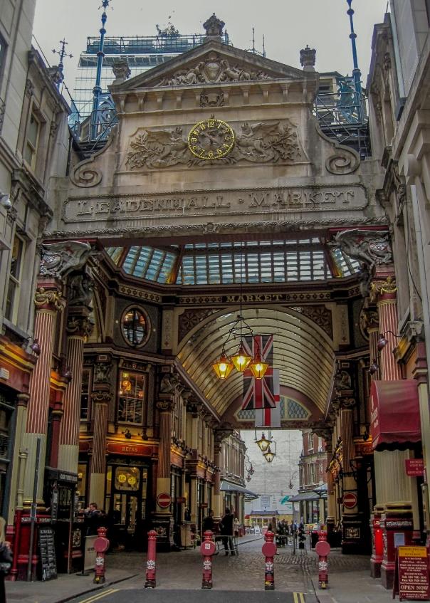 Leadenhall Market Whittington entrance © Memoirs Of A Metro Girl 2014