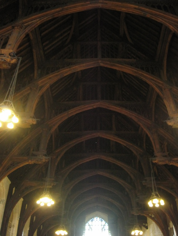 Westminster Hall roof © Memoirs Of A Metro Girl 2015
