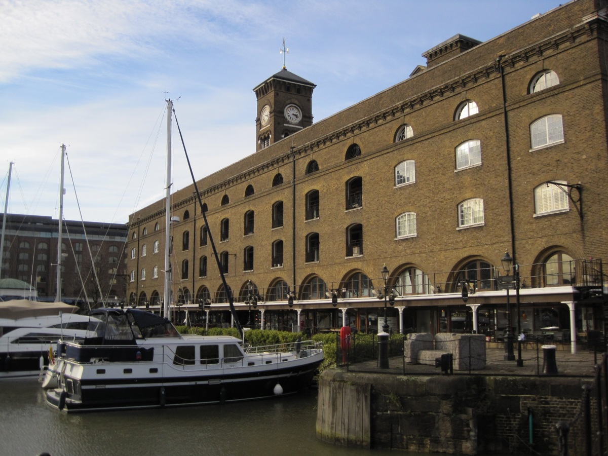 St Katharine Docks: A hidden oasis in the centre of London