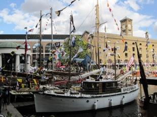 Classic Boat Festival St Katharine Docks © Memoirs Of A Metro Girl 2016