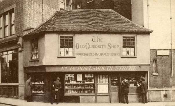Old Curiosity Shop postcard. Owned by Memoirs Of A Metro Girl. Copyright unknown