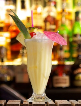 Feeling fruity? Get your tropical vibe on with a Pina Colada