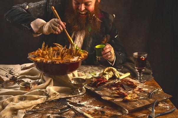Dinner at The Twits © Addie Chinn
