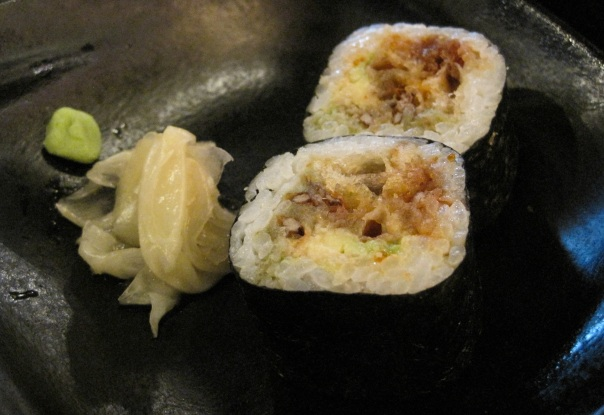 Soft Shell Crab Maki Sushi