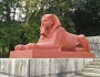 Back to their Victorian glory: The restored sphinxes of Crystal Palace Park