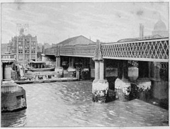 Blackfriars Railway Bridge By James Dredge, via Wikimedia Commons