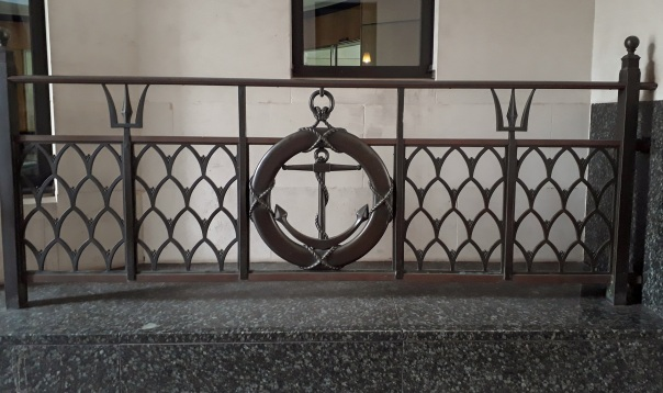Cunard House railings © Memoirs Of A Metro Girl 2018