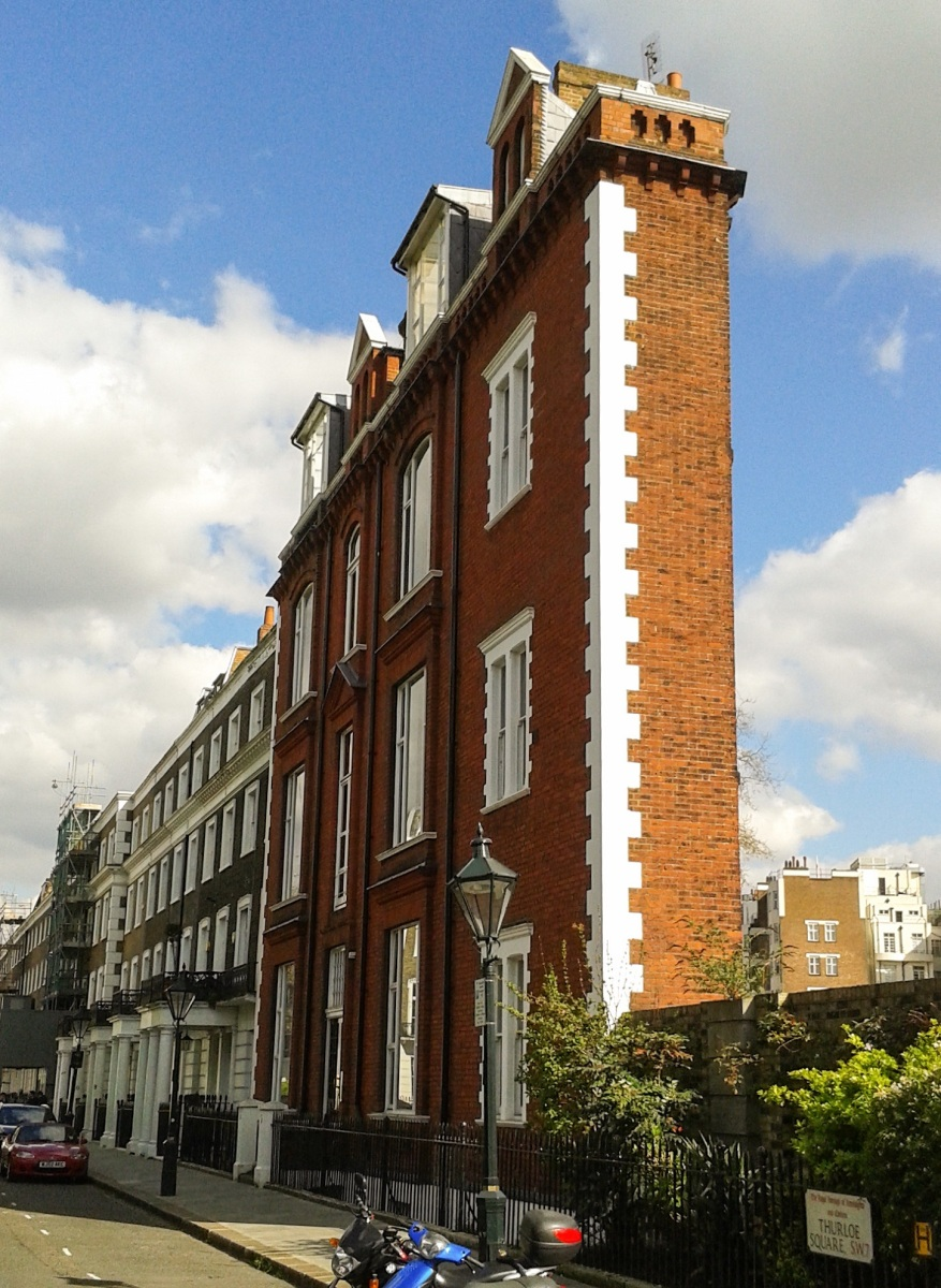 Is this London's skinniest house? The story behind 5 Thurloe Square