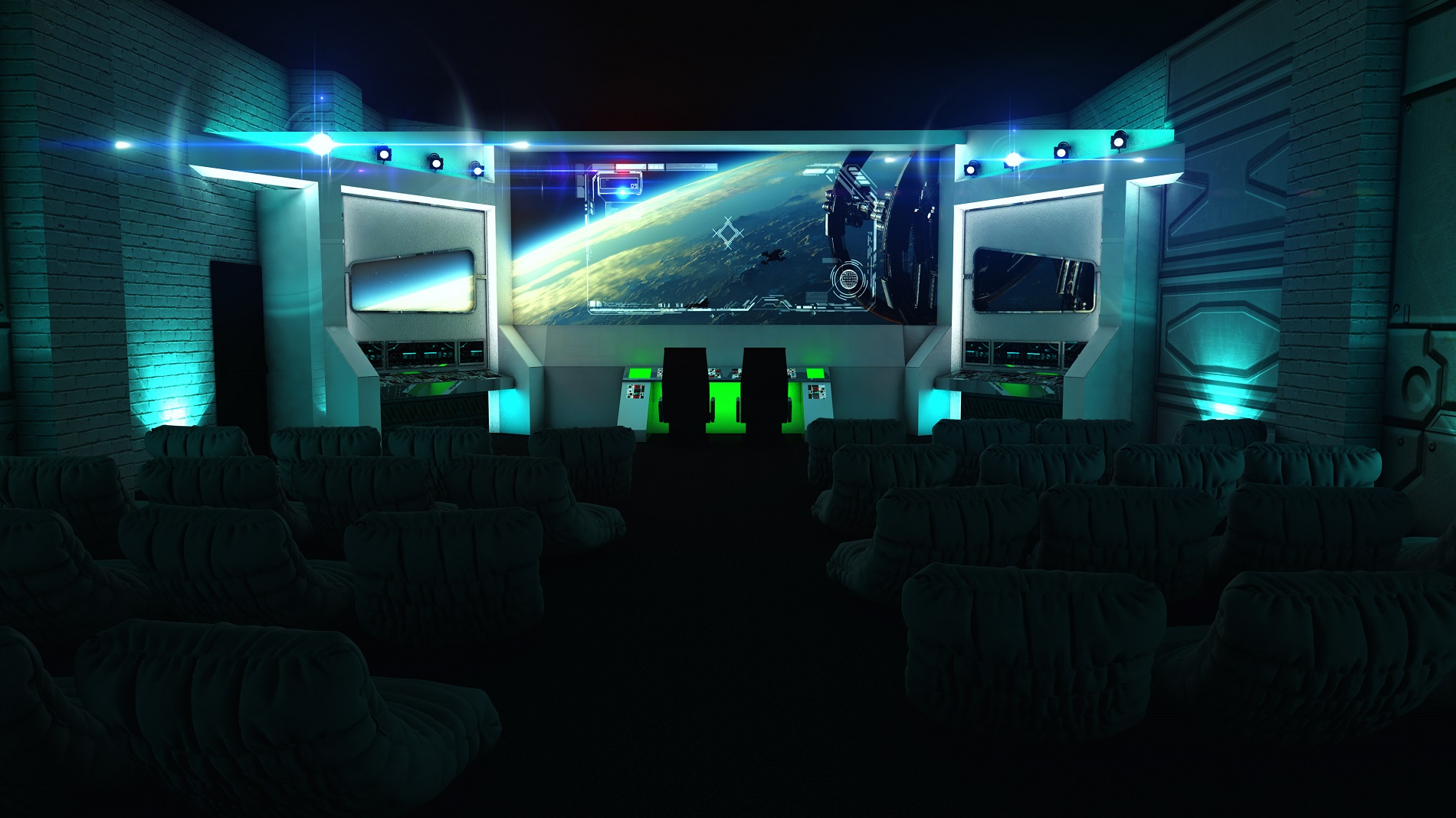 Backyard Cinema: Mission To Mars: Travel to another galaxy to watch your fave sci-fi film ...