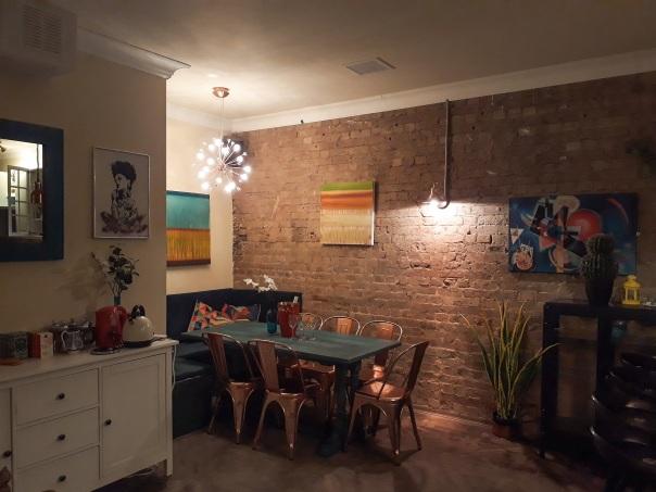 Little Blue Door kitchen © Memoirs Of A Metro Girl 2018