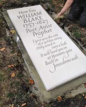 William Blake gravestone © James Murray-White