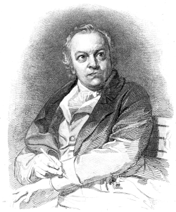 William Blake Engraving by Phillips Schiavonetti, 1880. (Image from Wikimedia Commons)