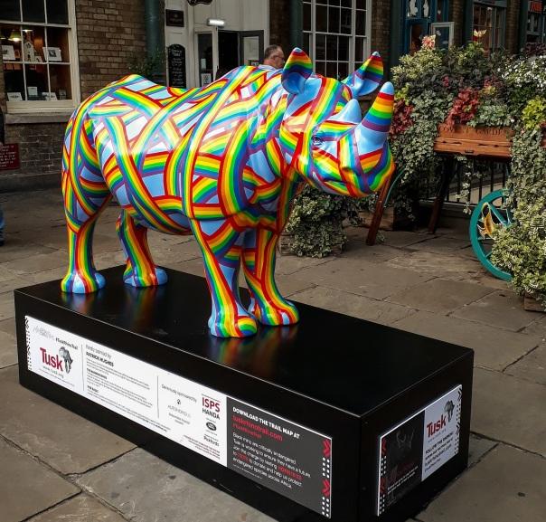 Rhino Trail Covent Garden © Memoirs Of A Metro Girl 2018