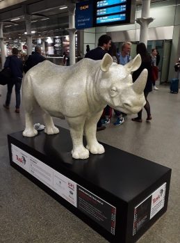 Rhino Trail St Pancras © Memoirs Of A Metro Girl 2018