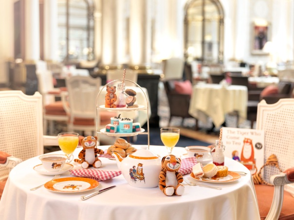The Tiger Who Came to Tea at The Savoy