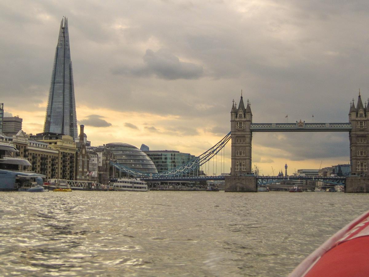 Tower Bridge and Shard Thames Rockets © Memoirs Of A Metro Girl 2018