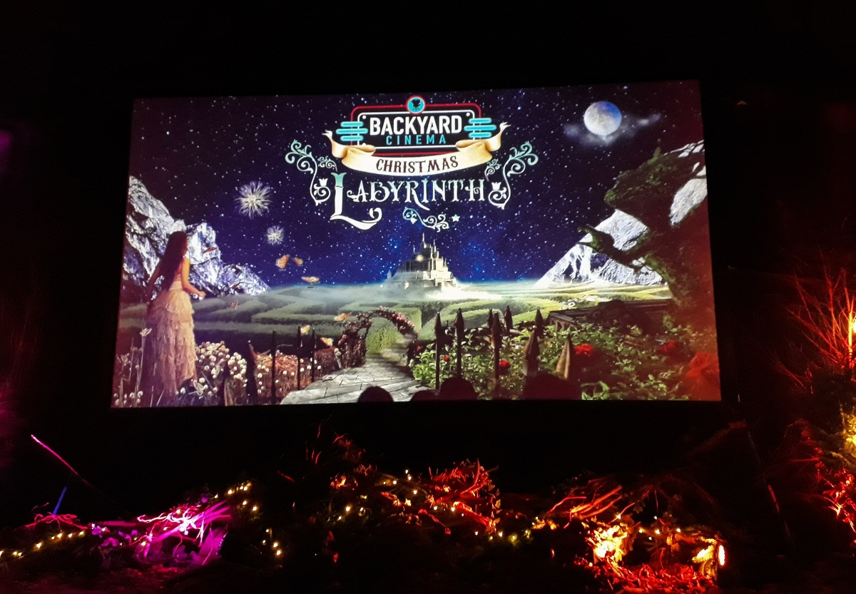 Backyard Cinema's Christmas Labyrinth review: A wonderfully festive movie experience